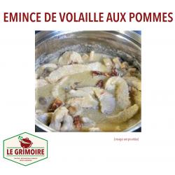 EMINCE DE VOLAILLE AUX POMMES
